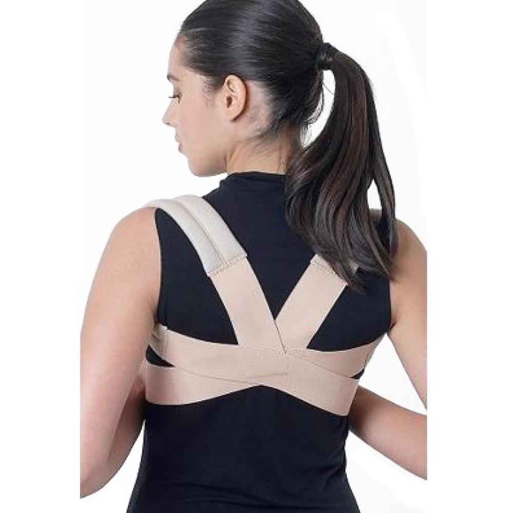 Espaldeira em Elástico para Postura Ortofly