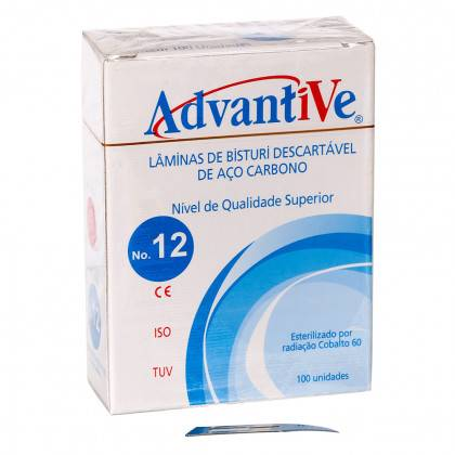 Bisturi Advantive nº 12