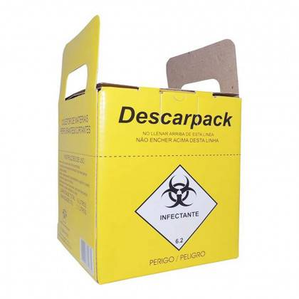 Coletor Perfurocortante 3,0 Litros Descarpack