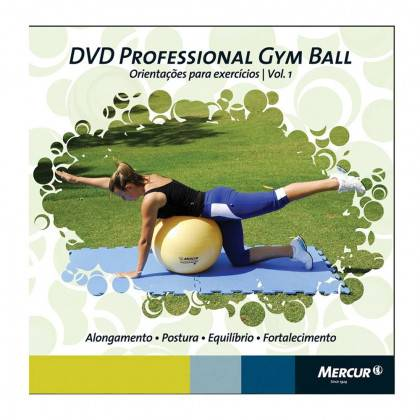 DVD Bola Gym Ball Mercur
