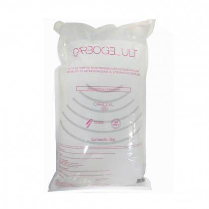 Gel Ultrassom Carbogel Bag 5 Litros